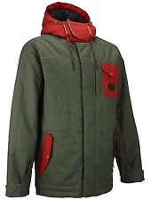 ANALOG Men's  ABANDON Snow Jacket - Moss Green - Medium - NWT