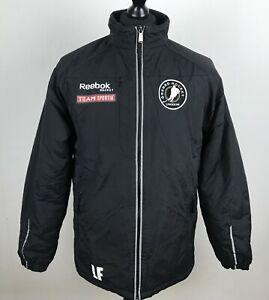 OREBRO HOCKEY UNGDOM 2013 REEBOK Hockey Jacket Men Size S TEAM SPORTIA Lined Top