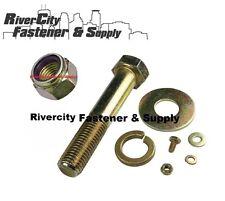 Grade 8 Bolts / Screws, Flat & Lock Washers & Hex Lock Nuts Kit 668 Pieces