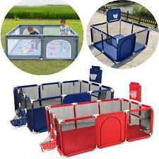 Kids Baby Playpen Safety Play Yard Activity Center Exercise Fence Toys Portable