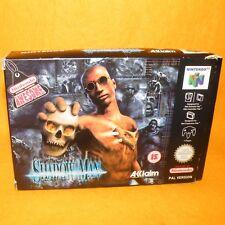 VINTAGE 1999 NINTENDO 64 N64 SHADOW MAN CARTRIDGE VIDEO GAME PAL VERSION BOXED