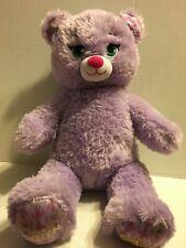 """Build A Bear Frozen Anna Purple Bear 16"""" Plush Stuffed Animal"""
