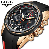 Top Luxury Brand Men Unique Sports Watch Men's Quartz Waterproof Wrist Watch