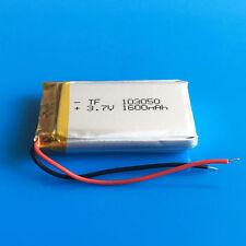 3.7V 1600mAh Li Po Battery for PC DVD GPS Camera Recorder PAD TV box PDA 103050