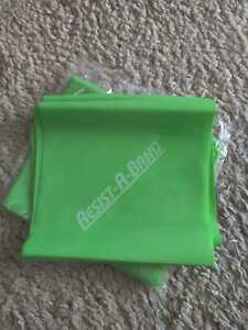 Resist-A-Band® Exercise Bands GREEN HEAVY Perfect for Strength Training Physical