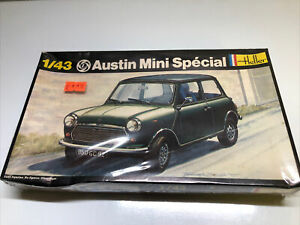 Heller 1/43 Austin Mini Special Plastic Model Kit