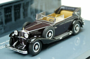 Maybach Zeppelin DS 8 Bj. 1930, Dark Red, High-Quality Minichamps-Modell 1:43