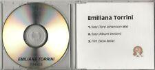 EMILIANA TORRINI Easy 2000 UK 3-track promo test CD Tore Johansson Mix