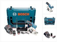 Bosch GKS 10,8 V-LI Akku Kreissäge + 2x 2,5Ah Akkus + Lader in L-Boxx 06016A1003