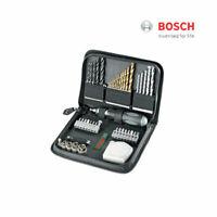 46pc Bosch Promo X Line Bit Set Multi Purpose Driver Drill Bit  Pouch Set ea