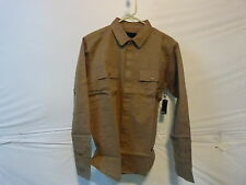 Imperial Motion James Overshirt - Long-Sleeve - Men's Small Olive Color
