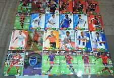 Lot cartes Adrenalyn ligue 1 Guingamp Nancy Ajaccio Troyes Nice cards football