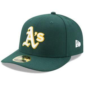 New Era Uomo MLB Oakland Athletics Autentico Collezione Profilo Basso 5950 Fit