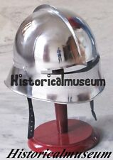 MEDIEVAL GERMAN SALLET HELMET -GOTHIC CLOSE HELM RE-ENACTMENT ROLE PLAY FGHV269