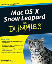LeVitus-Mac OS X Snow Leopard For Dummies BOOK NUOVO