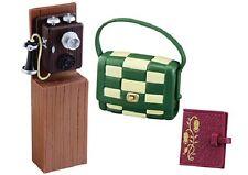 Re-Ment Miniature Modern Girl Set # 4 Phone call