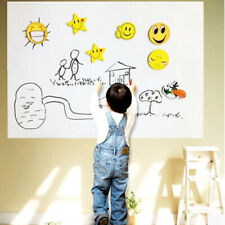 NEW 17*78inch Removable Dry Erase Board Wall Whiteboard Draw Sticker w/ 5 Chalks
