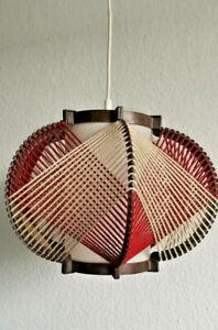 Mid Century Lampe Fadenlampe Vintage Panton Ära Danish Design 50er 60er Jahre