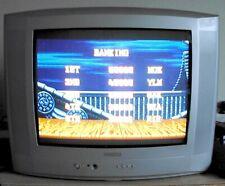 """Ecran TV CRT 21"""" cathodique Philips 21PT4426 Retrogaming Atari Sega Nintendo..."""