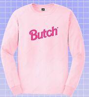 Butch Long Sleeve T-shirt LGBT Gay Pride Top Masc Bottom Bear Otter Spit Fem Top