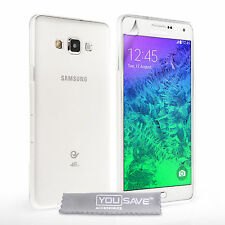 Yousave Accessories For The Samsung Galaxy A7 Clear Silicone Gel Case Cover UK