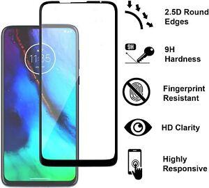 For Motorola Moto G Stylus XT2043 2020 NEW Full Coverage Glass Screen Protector