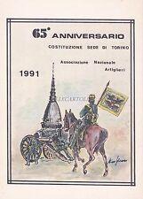 MILITARE - ARTIGLIERIA - 65°Anniversario - Associazione Nazionale Art. Torino