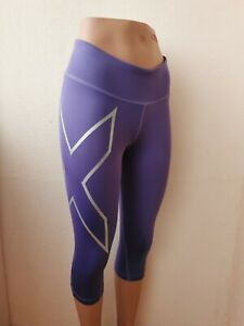 2XU Womens Active Wear Capr tights Leggings Size S