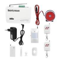 Système d'Alarme de Sécurité Vocale sans Fil Dual PIR Cambrioleur Détecteur GSM