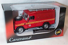 Land Rover Series 111 109 Fire and Rescue services 1-43 scale mib