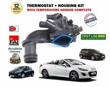 FOR PEUGEOT 308 1.6 16v + CC SW  2007--> NEW THERMOSTAT + HOUSING + SENSOR KIT