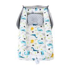 Baby Nest Lounger Bed Crib Outdoor Newborn Sleep Foldable Bassinet Pillow Decor