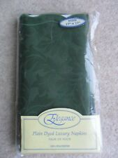 Set of Four Green Table Napkins