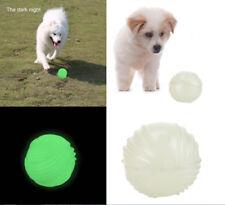 Pet Dog Puppy Chew Ball Glow in The Dark Luminous Bite Playing Trainning Toys