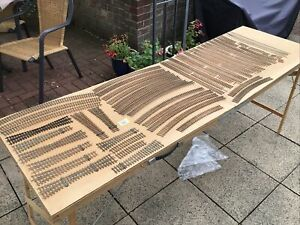 JOB LOT HAND MADE 00 GAUGE POINTS & TRACK. COPPER CLAD SLEEPERS. See Des (s70)