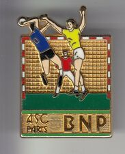RARE PINS PIN'S .. BANQUE BANK BNP SPORT HANDBALL BALL TEAM PARIS 3D OR BIG ~DE