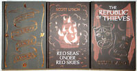 Scott Lynch SIGNED The Gentleman Bastard Sequence 1-3 UK Limited Hardcover Eds