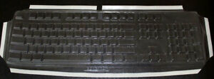 Custom made Keyboard Cover for Dell SK8110 - 177E108 A Protection Key no Inc
