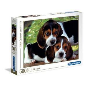 puzzle Clementoni 500 pezzi CLOSE TOGETHER HQC High Quality 49x36 30289 OMAGGIO