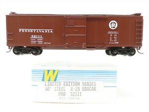 HO Walthers Limited Edition Series 932-2051A PRR Pennsylvania 40' Boxcar #52111