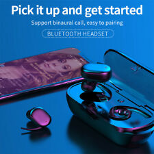 Bluetooth 5.0 Earphones TWS Wireless Headset Earbuds Waterproof in EAR Pods