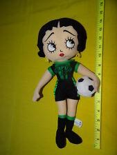 "Soccer Ball  Betty Boop 15"" plush Sugar Loaf EUC"