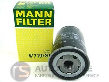 1 x Oil Filter Genuine Man W719/30 Audi Seat Skoda VW Many Models Oil Filter