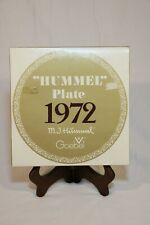 Vintage Goebel Hummel 1972 Annual Collector 7-1/2'' Plate in Box