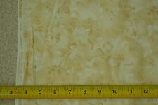 "By-the-Half-Yard, 44"", White Gold & Brown on Tan Quilter's Cotton,Kaufman, C2549"