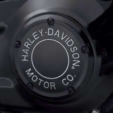 Harley-Davidson Motor Co. Derby Cover Black - 19+ softail - 25701023