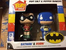 FUNKO DC Legion of Collectors LEGACY Batman and Robin salt & Pepper shakers