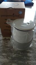 Pampered Chef Mint Condition Ceramic Egg Cooker, FREE SHIPPING! #1529