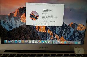 """Apple MacBook Air A1465 2013 11.6"""" Core i5 1.3Ghz 4GB Spares or repair"""
