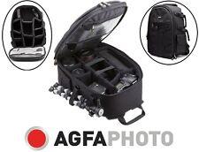 Agfaphoto Large Backpacks Case Bag For Panasonic Lumix DMC-FZ70 DMC-GM5 DMC-GH4